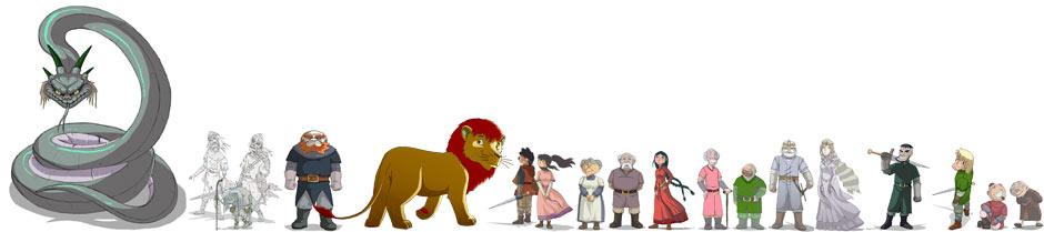 yvain ou le chevalier au lion resume chapitre